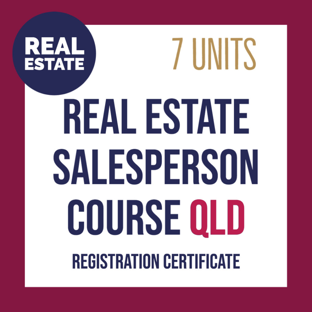 Real Estate Salesperson Course Qld Training To Start Work In Real Estate
